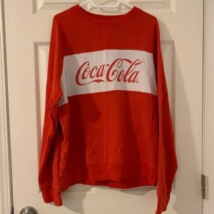 Pacsun Sweater Coca Cola edition